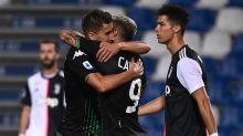 Sassuolo-Juve (3-3) - Match nul et surtout fou, la Juve trébuche à Sassuolo