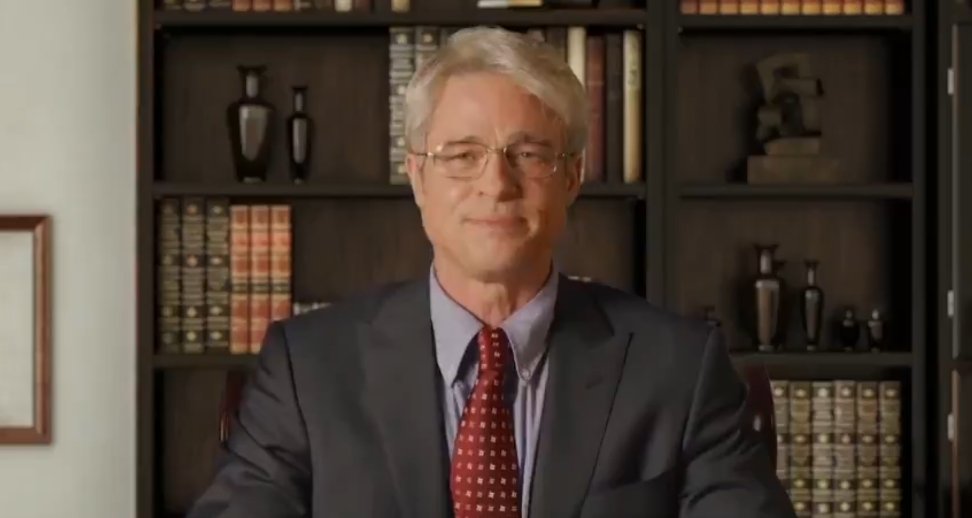 Did you see Brad Pitt play Dr. Fauci on 'SNL at Home'?