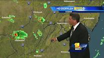 Tony: T-storm possibilities stick around for weekend