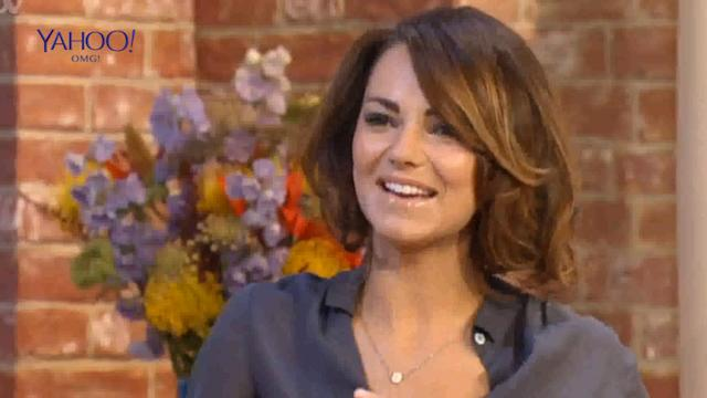 Kara Tointon looks gorge in thigh high boots on This Morning