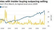 Insider Buying Reaches a 10-Year High