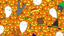 There's a Star Hidden Among These Pumpkins and Ghosts. Can You Find It?