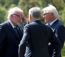 Germany, Poland and France call for more efforts to end Ukraine crisis