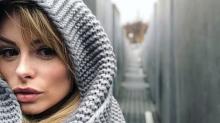 British model criticised for posting Holocaust Memorial selfie