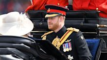 Why Prince Harry doesn't ride horseback during Trooping the Colour