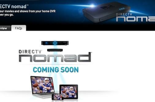 DirecTV's Nomad teaser page suggests a Slingbox competitor, but little else