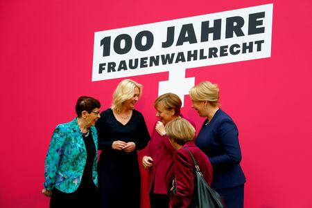 German Region Tells Parties Put Equal Numbers Of Men And Women Up For Election