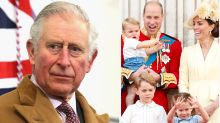 Prince Charles is 'terribly sad' to be apart from his grandchildren during lockdown