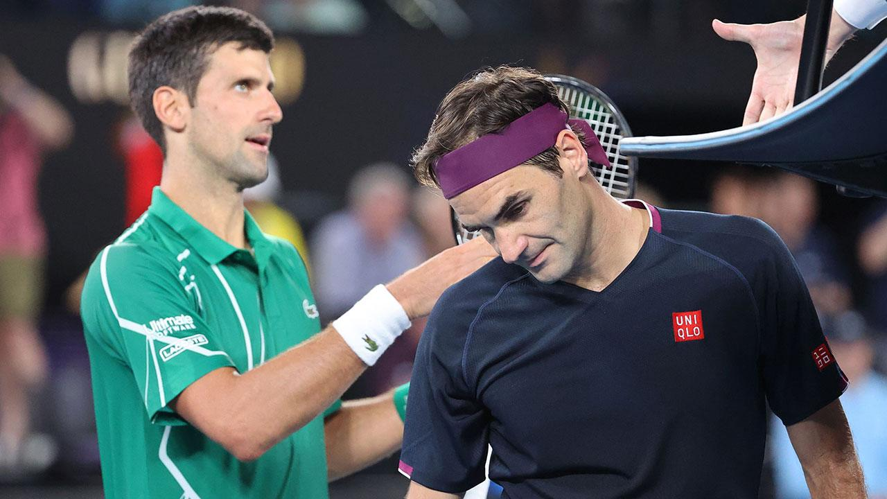 Novak Djokovic's father in bizarre swipe at 'jealous' Roger Federer