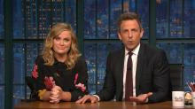Amy Poehler and Seth Meyers Revive 'Saturday Night Live' Segment on 'Late Night'
