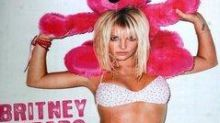 Brave Britney reveals her real figure