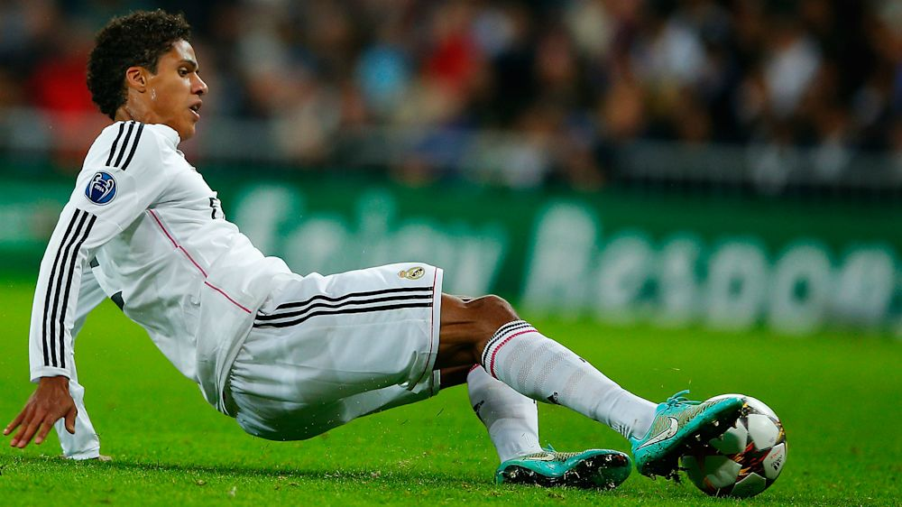 Varane early casualty for Real Madrid after limping off with injury