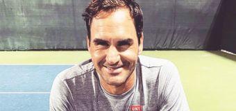 'Can't wait': Federer photo sparks fan frenzy