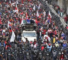 Thousands celebrate reinstatement of Nepal's Parliament