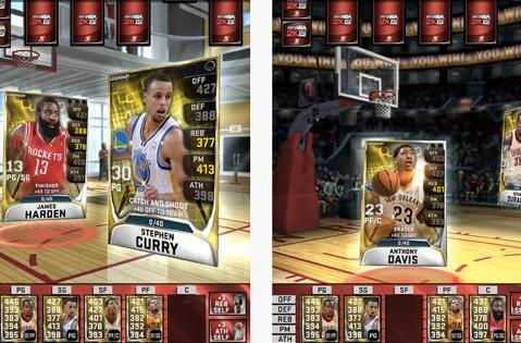 NBA 2K card-battling app now available