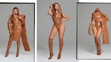 Beyoncé Shares Smoking Hot Pictures Of Herself Covered In Latex For New Icy Park Drop