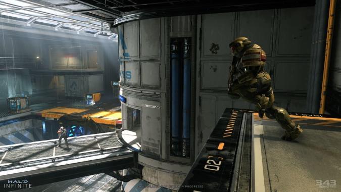 'Halo Infinite' multiplayer map