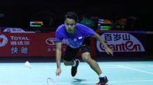 Anthony ditundukkan wakil tuan rumah di final Hong Kong Open