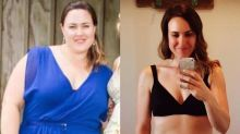 How this mom of three lost half her body weight