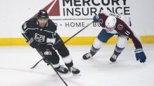 Kings' late rally falls short against Avalanche