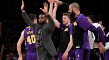 Lakers without James at least two more games