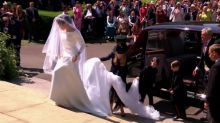 Royal Family Arrives at St George's Chapel For Wedding