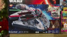 Hasbro turns up after reporting soft sales—Star Wars merchandise and Toys 'R' Us in focus