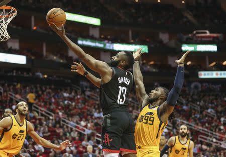 b2405cafcc79 NBA roundup  Harden drops 47 vs. Jazz