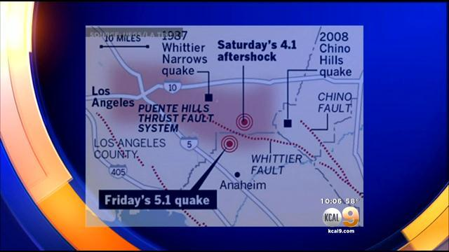 A Temblor On The Puente Hills Thrust Fault Would Be 'The Quake From Hell'