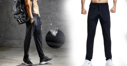 Stretch pants perfect for fitness and running