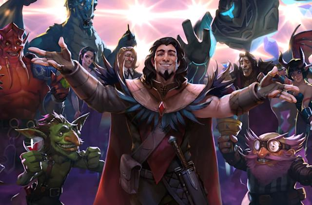 Blizzard's next 'Hearthstone' adventure is a magical disco party