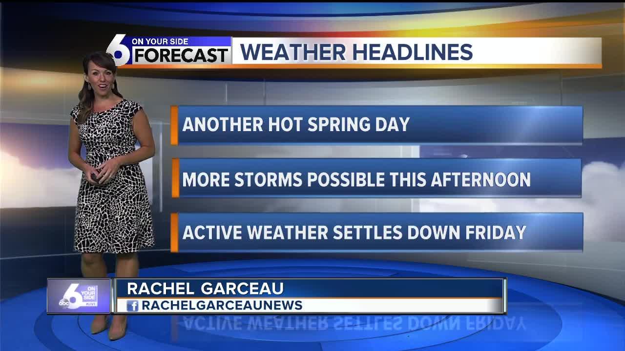 Rachel Garceau's On Your Side forecast 6/13/19
