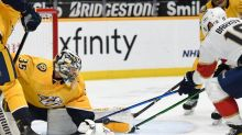 Florida Panthers start strong then hold off Nashville Predators for another road win