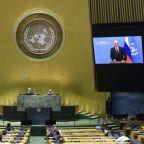 Putin vaunts Russian coronavirus vaccine at UN