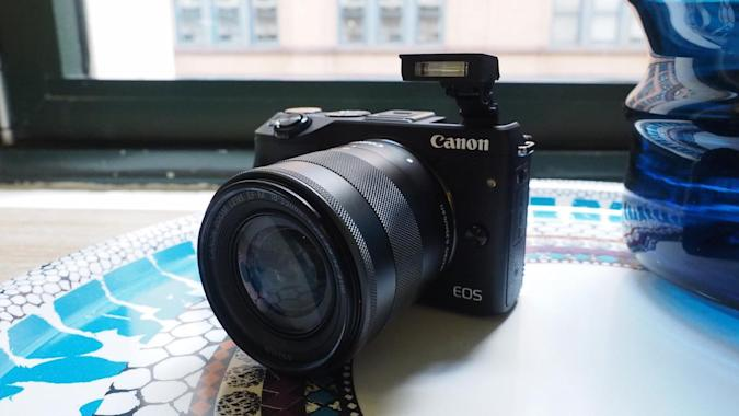 Canon's EOS M3 mirrorless camera is coming to the US