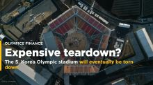 South Korea built a $109 million Olympic stadium just to eventually tear it down