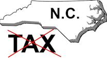 Mission to eliminate personal, corporate income taxes in NC