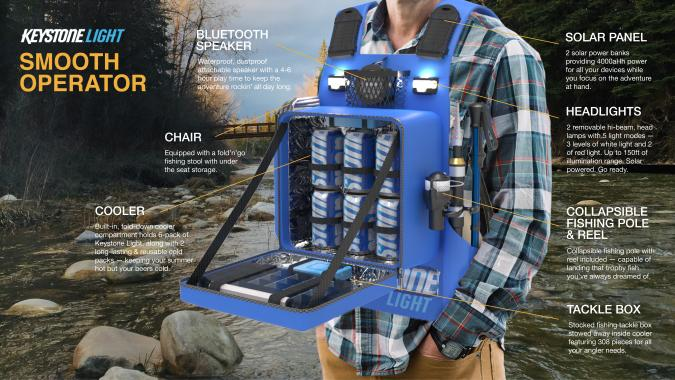 Keystone Light Smooth Operator wearable