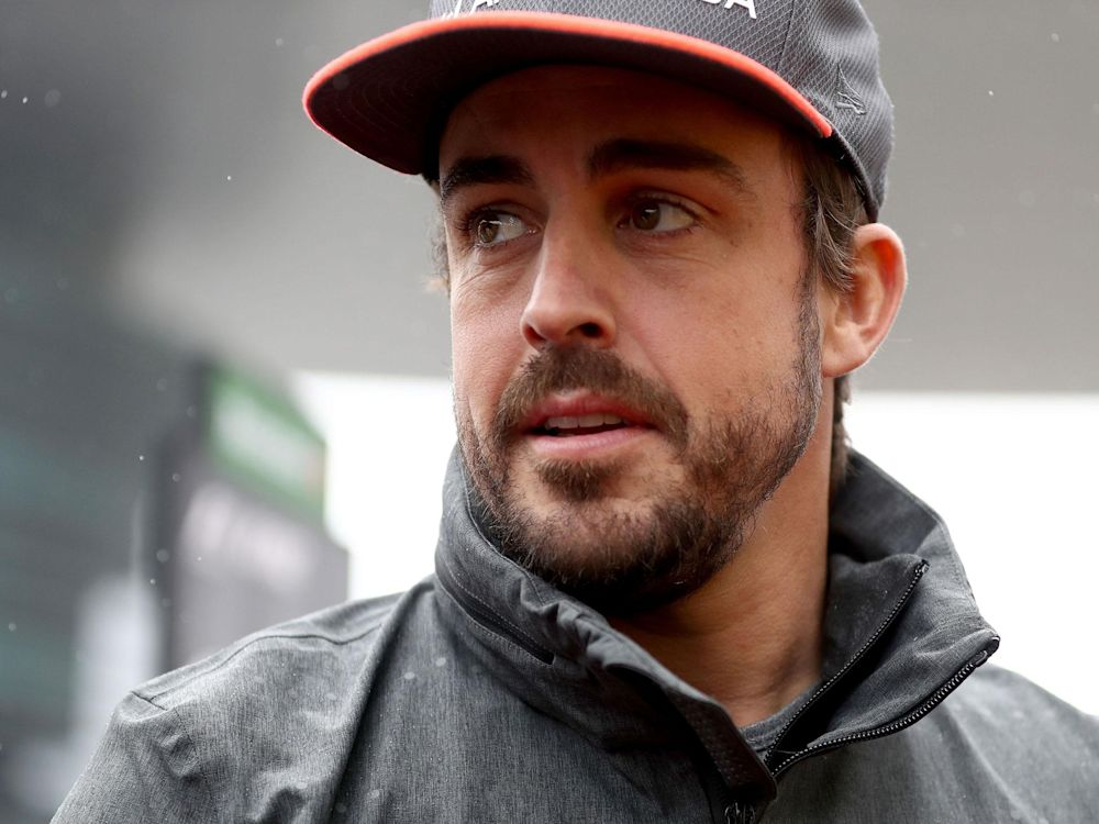 'I'm immensely excited that I'll be racing in this year's Indy 500,' Alonso said: Getty