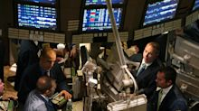US STOCKS-Wall St slips on trade concerns, muted rate cut hopes