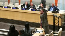 Cuban diplomats at UN stage noisy protest at US event