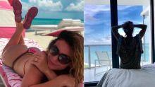 Em Miami, Giovanna Antonelli posa de fio-dental e se hospeda em hotel luxuoso
