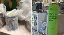 Woolworths shopper fumes over plastic bag error with online delivery