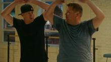 Channing Tatum allows James Corden to audition for 'Magic Mike Live'