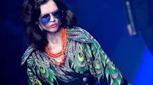 Maximalism is still the order of the day at Gucci