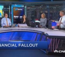 It's a bank bloodbath as the sector gets crushed, so what...