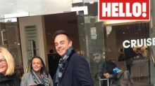 Ant McPartlin spends time with mum in Newcastle following Lisa Armstrong divorce – see exclusive photo