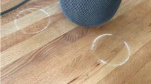 L'enceinte HomePod d'Apple a un problème... avec les meubles en bois