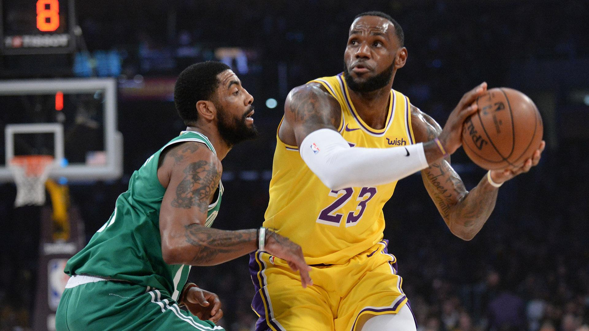 ee00fb7512f NBA rumors  Kyrie Irving has discussed joining LeBron James