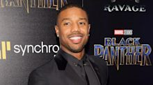 Michael B. Jordan offered to replace a fan's retainer after she broke it watching 'Black Panther'